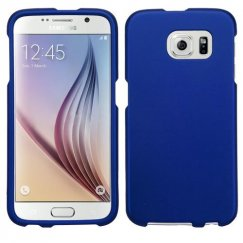Samsung Galaxy S6 Titanium Solid Dark Blue Case