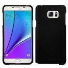 Samsung Galaxy Note 5 Black Phone Protector Cover(Rubberized)