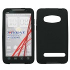 HTC EVO 4G Solid Skin Cover (Black)