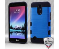 Dark Blue/Black Brushed Hybrid Protector Cover [Military-Grade Certified]
