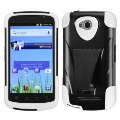 Coolpad Quattro 4G White Inverse Advanced Armor Stand Case