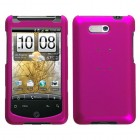 HTC Aria Titanium Solid Hot Pink Phone Protector Cover