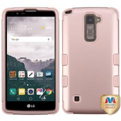 LG LG G Stylo 2 Plus Rose Gold/Rose Gold Hybrid Case