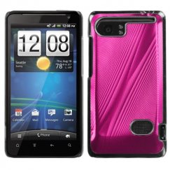 HTC Vivid Hot Pink Cosmo Back Case