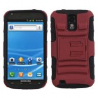 Samsung Galaxy S2 Red/Black Advanced Armor Stand Case