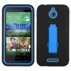 HTC Desire 510 Dark Blue/Black Symbiosis Stand Case