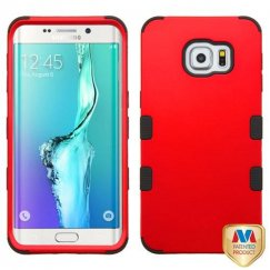 Samsung Galaxy S6 Edge Plus Titanium Red/Black Hybrid Case