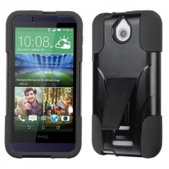 HTC Desire 510 Black Inverse Advanced Armor Stand Case