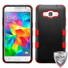 Samsung Galaxy Grand Prime Natural Black/Red Hybrid Case