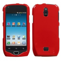 Samsung Galaxy Exhibit Solid Flaming Red Case