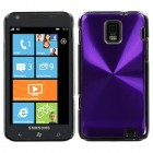 Samsung Focus S Purple Cosmo Back Protector Cover