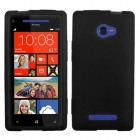 HTC Windows Phone 8x Solid Skin Cover - Black