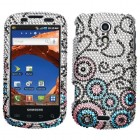 Samsung Epic 4G (Galaxy S) Bubble Flow Diamante Case