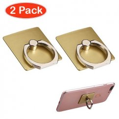 Gold Adhesive Ring Stand (2pcs)