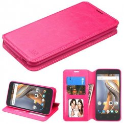 Coolpad Catalyst Hot Pink Wallet with Tray