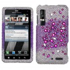 Motorola Droid 3 Universe Diamante Phone Protector Cover