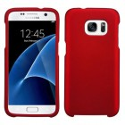 Samsung Galaxy S7 Titanium Solid Red Case