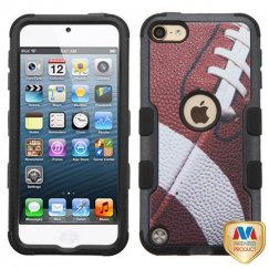 Apple iPod Touch (6th Generation) Football/Black Hybrid Case
