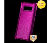 Transparent Hot Pink Sheer Glitter Premium Candy Skin Cover