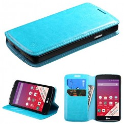 LG Tribute Blue Wallet with Tray