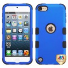 Apple iPod Touch (6th Generation) Titanium Dark Blue/Black Hybrid Case