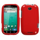 Motorola Bravo Solid Flaming Red Phone Protector Cover