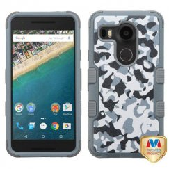LG Nexus 5X Urban Camouflage/Iron Gray Hybrid Case