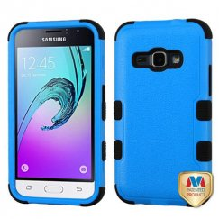 Samsung Galaxy J1 Natural Dark Blue/Black Hybrid Case