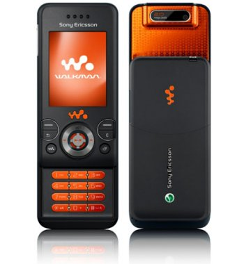 Sony Ericsson W580i Music Camera Bluetooth Black Phone ATT