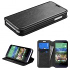 HTC Desire 510 Black Wallet with Tray