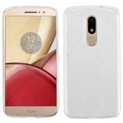 Motorola Moto M Glossy Transparent Clear Candy Skin Cover