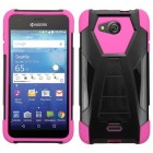 Kyocera Wave / Hydro Air Hot Pink Inverse Advanced Armor Stand Case