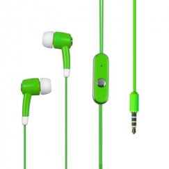 Apple Green Stereo Handsfree