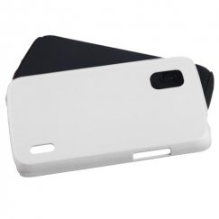 LG Nexus 4 White Fusion Case - Rubberized
