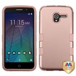Alcatel Stellar / Tru 5065 Rose Gold/Rose Gold Hybrid Case