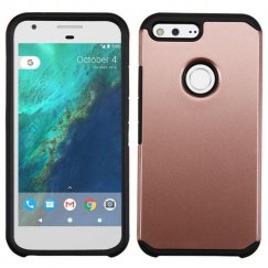 Google Pixel XL Rose Gold/Black Astronoot Case