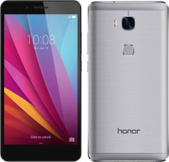Huawei Honor 5X 16GB Android Smartphone - Unlocked GSM - Gray