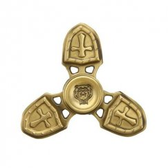 Cross Bronze Triangle Spinner
