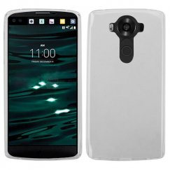 LG V10 Glossy Transparent Clear Candy Skin Cover
