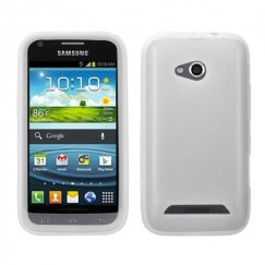 Samsung Galaxy Victory 4G LTE Solid Skin Cover - Translucent White