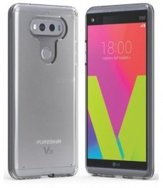 PureGear Slim Shell Case for LG V20- Clear