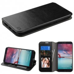 ZTE Grand X Max 2 Black Wallet with Tray