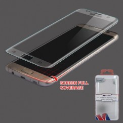 Samsung Galaxy S7 Edge Full Coverage Tempered Glass Screen Protector/Translucent Frosted