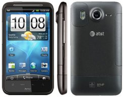 HTC Inspire 4G Android Smartphone - Unlocked GSM - Black