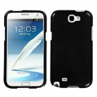 Samsung Galaxy Note 2 Solid Black Phone Protector Cover