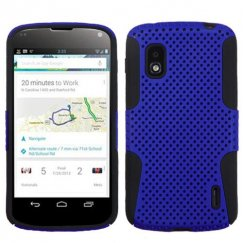 LG Nexus 4 Dark Blue/Black Astronoot Case