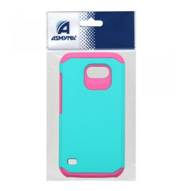 Huawei Union Y538 Teal Green/Hot Pink Astronoot Case