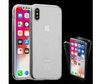 Apple iPhone X T-Clear Full-Body Candy Skin Covers (Front+Back)