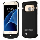 Samsung Galaxy S7 4200 mAh Rubberized Black Quantum Energy Battery Case