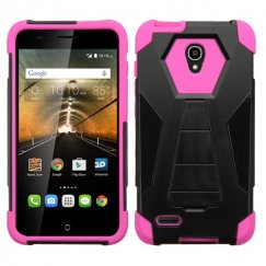 Alcatel One Touch Conquest Hot Pink Inverse Advanced Armor Stand Case